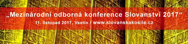 Mezinárodní konference Slovanství 2017