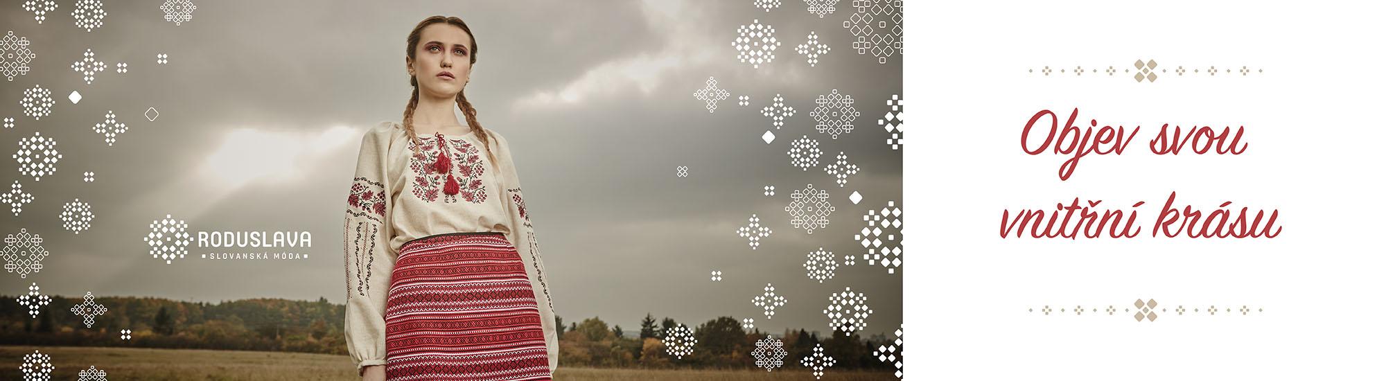 Roduslava_ženská slovanská móda probudí vnitřní krásu