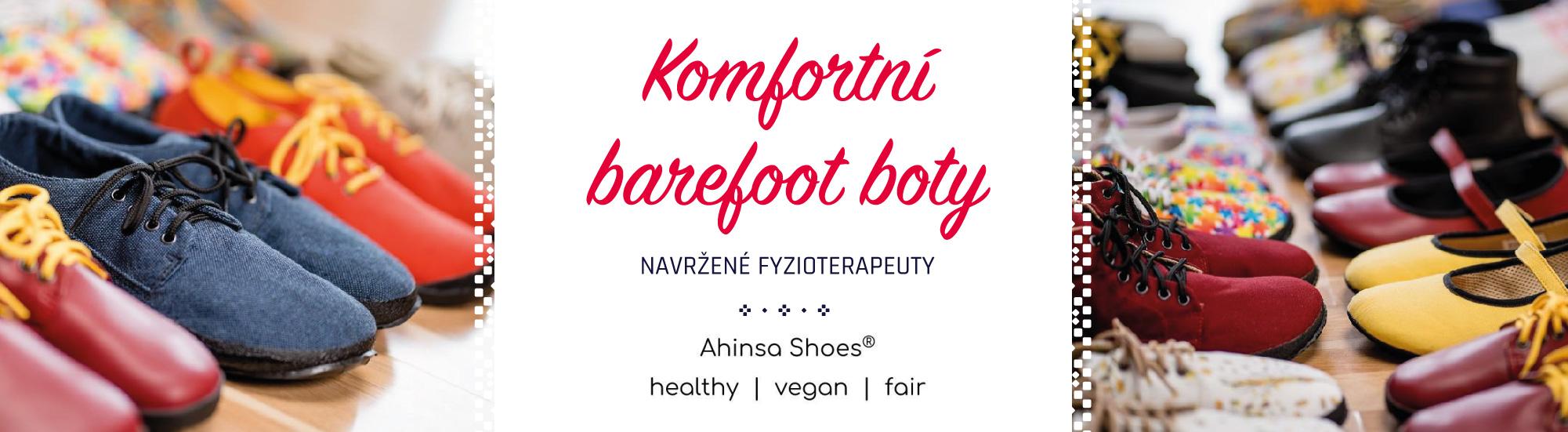 Nově Ahinsa shoes v Roduslava prodejně