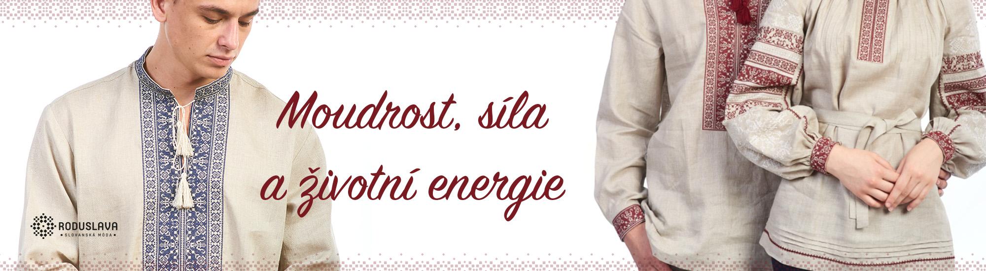 Moudrost, síla a životní energie
