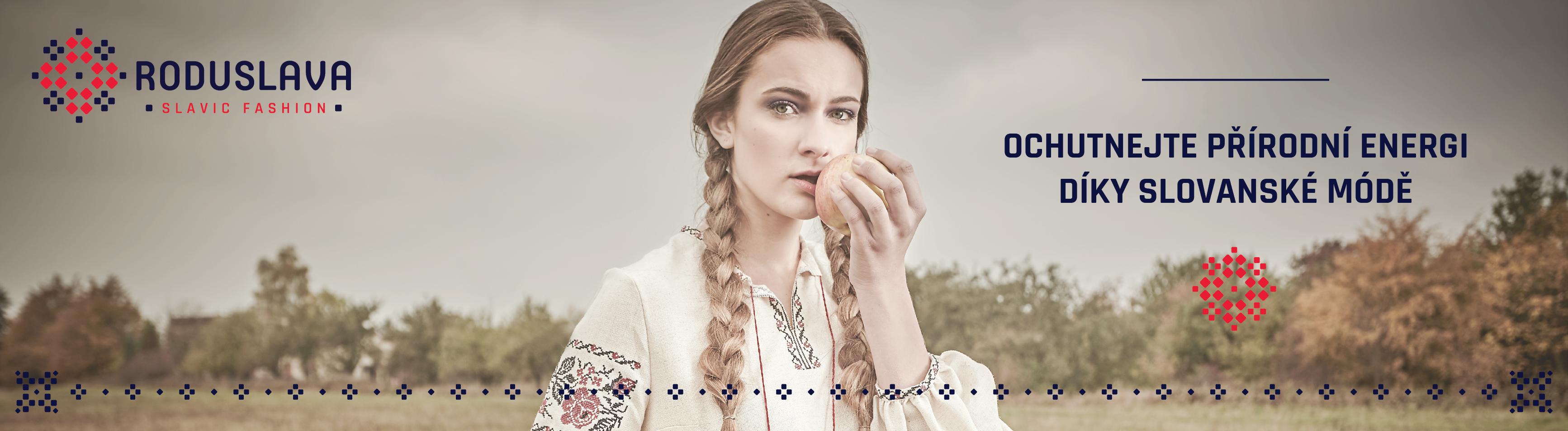 Roduslava slovanská móda pro muže a ženy