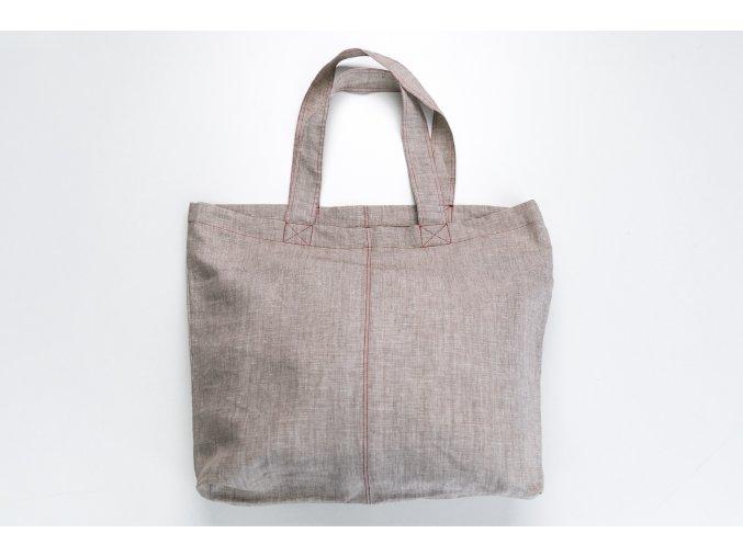 Lehká lněná taška