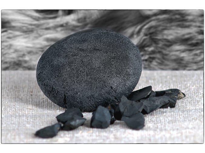 Šamponový kámen šungitový