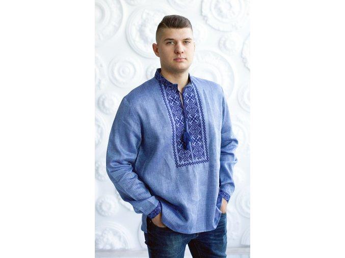 Pánská vyšívaná košile Lubomír
