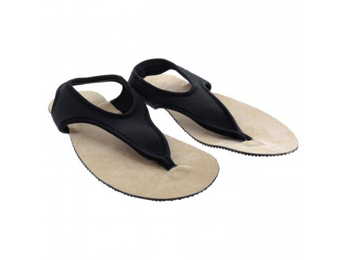 Uzemňující/vodivé sandály TRINITI černé