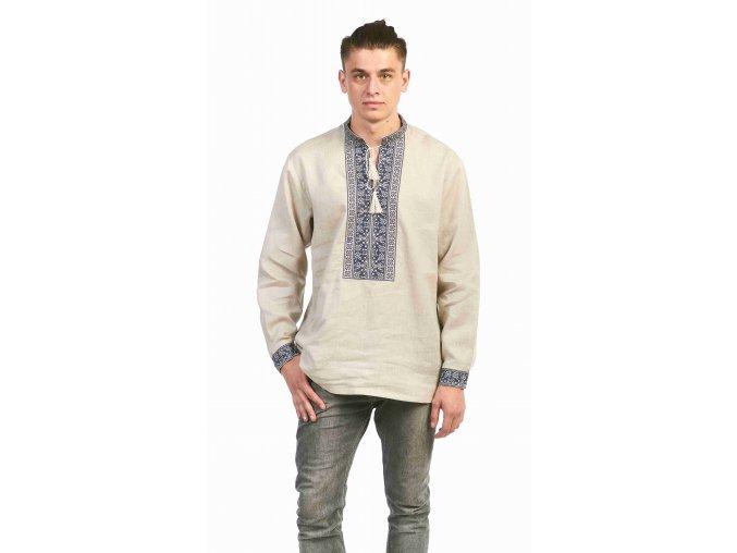 Pánská vyšívaná košile Jaromír