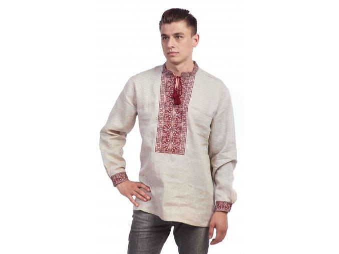 Pánská vyšívaná košile Jaromír 2