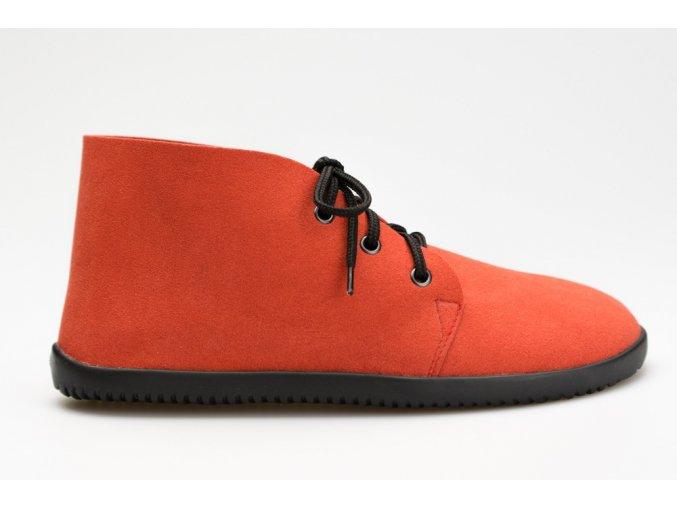 Bindu Comfort Ankle Červená