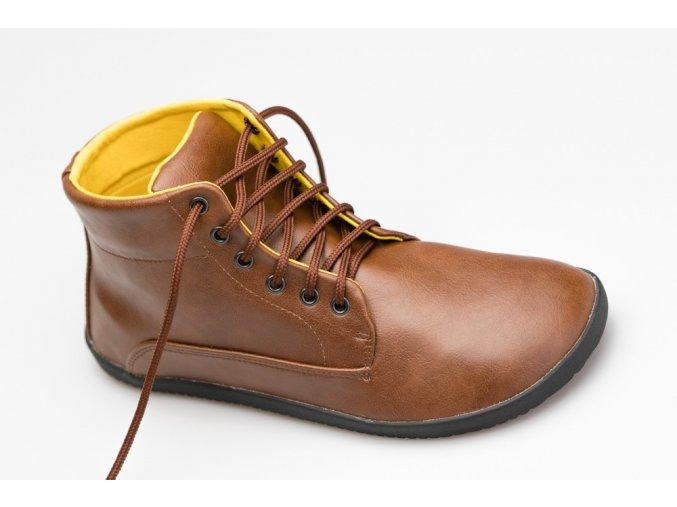 Sundara Comfort Ankle Lifo+ Světle Hnědá