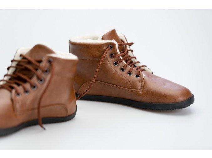 Ahinsa Comfort Ankle Lifo+ Světle Hnědá