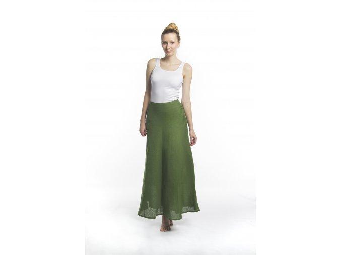 Dámská dvoudílná sukně zelená