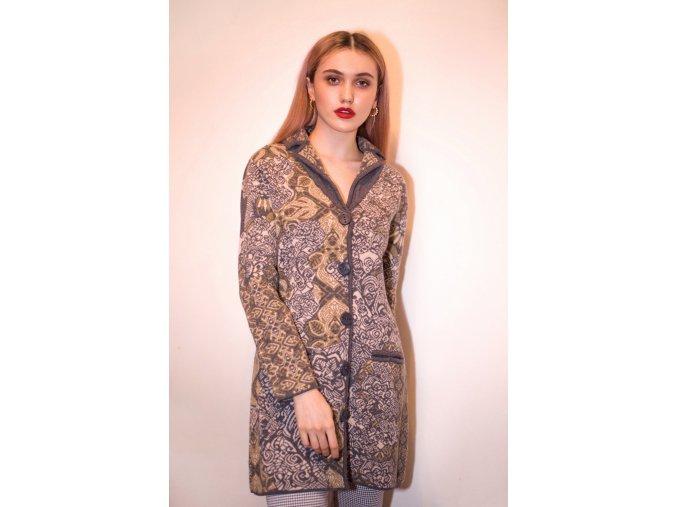 Pletený kabátek Kooi