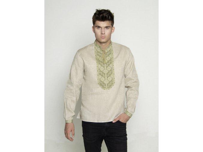 Pánská vyšívaná košile Radomír