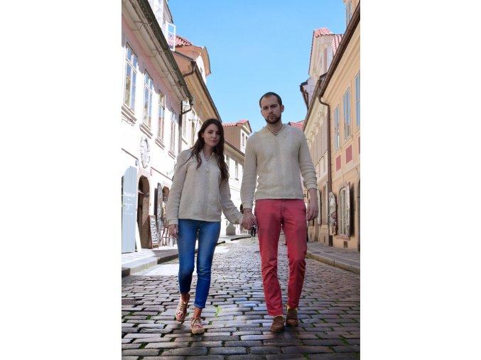 Pletený svetr Belomír