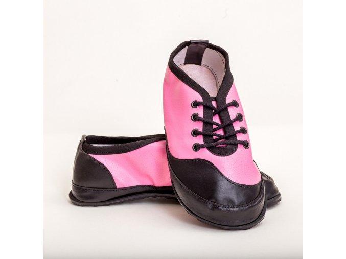 barefoot TENISKY B21  růžová 35-42