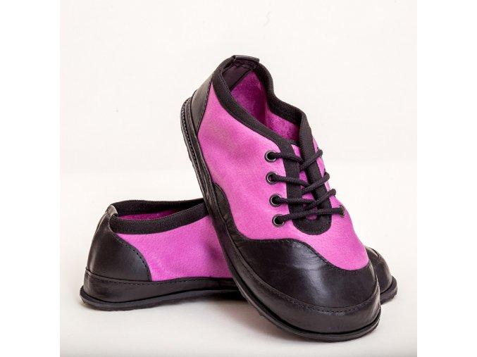 barefoot TENISKY B21 fialová 35-42
