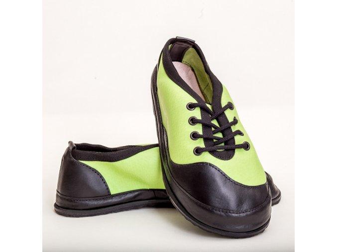 barefoot TENISKY B21 zelená 43-47
