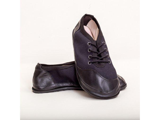 barefoot TENISKY T21 černá 43-47
