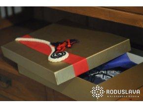 Luxusní balení ručně zdobená krabice