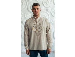Pánská vyšívaná košile Víslav