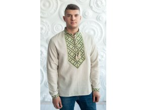 Pánská vyšívaná košile Ludomysl