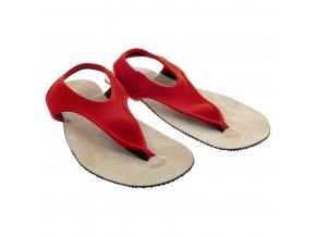 Uzemňující/vodivé sandály TRINITI červené