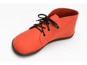 Bindu Bare Ankle Červená