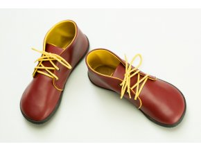 Bindu Bare Ankle Červeno žlutá