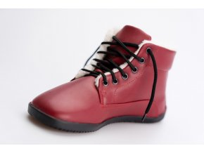 Ahinsa Bare Ankle Lifo+ Červená