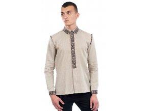 Pánská vyšívaná košile Bohuslav