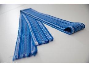 Modrý tkaný pásek