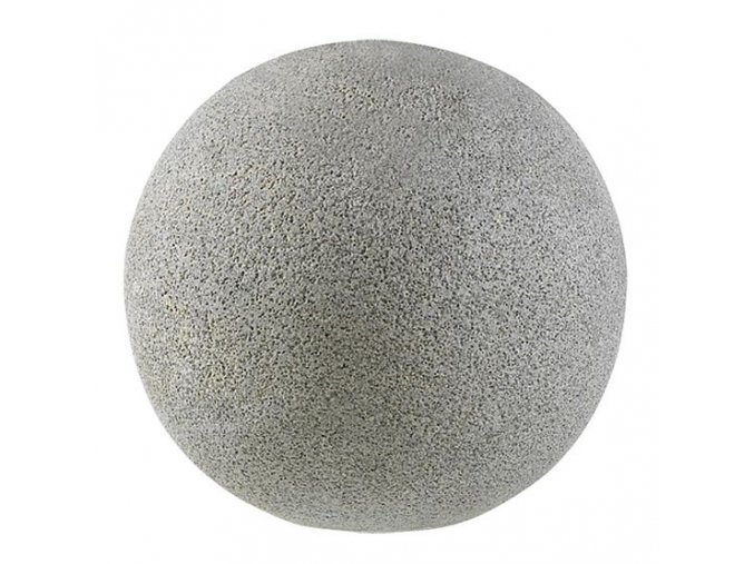 Dekorace BALL granite grey 40