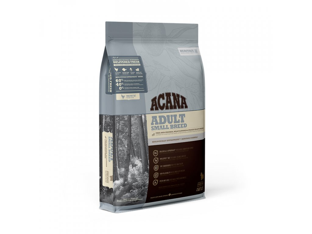 Acana Heritage Adult Small Breed 6 kg