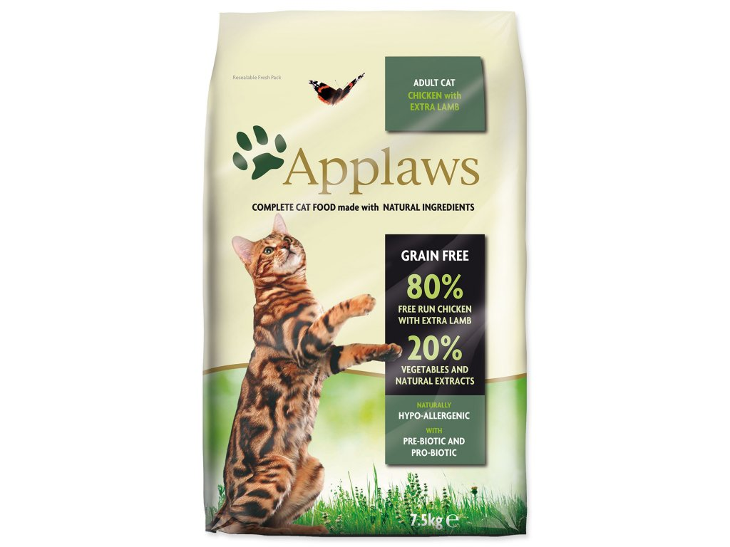 Applaws Cat Chicken with Lamb 7,5 kg