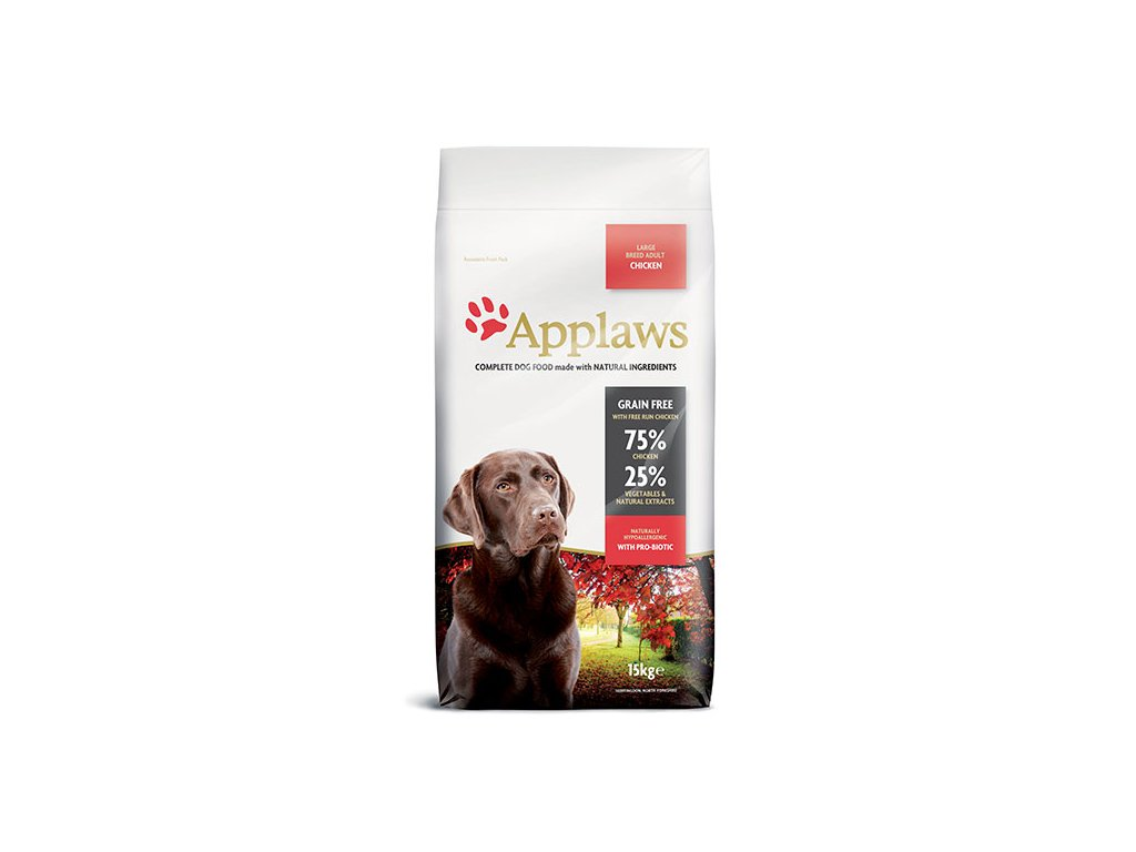 Applaws Dog Adult Chicken Large Breed 15 kg