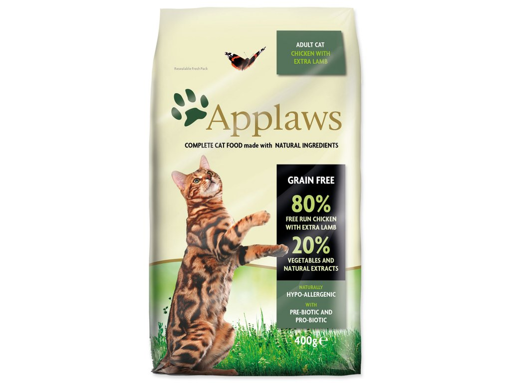 Applaws Cat Chicken with Lamb 400 g