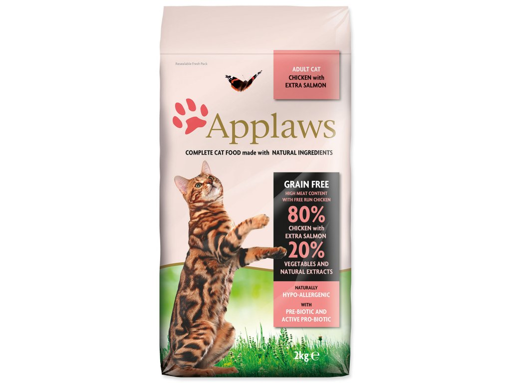 Applaws Cat Chicken and Salmon 2 kg