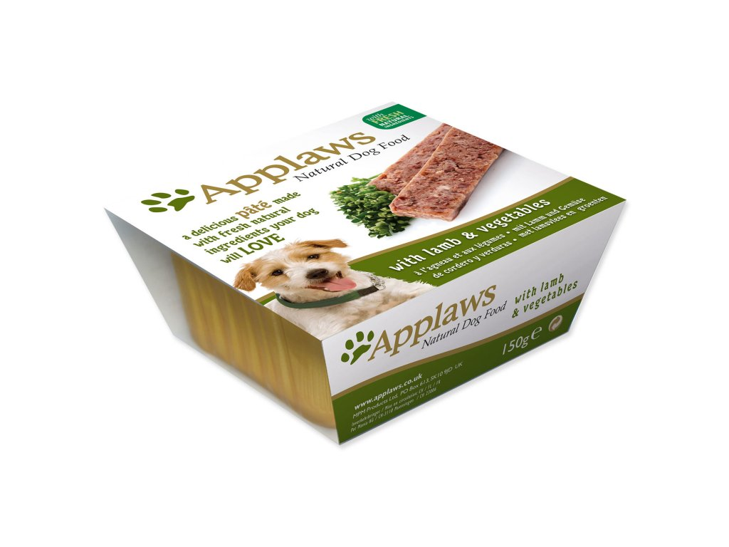 Paštika Applaws Dog Pate with Lamb and Vegetables 150 g