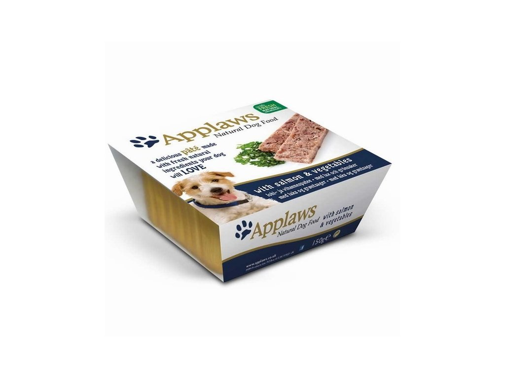 Paštika Applaws Dog Pate with Salmon and Vegetbales 150 g