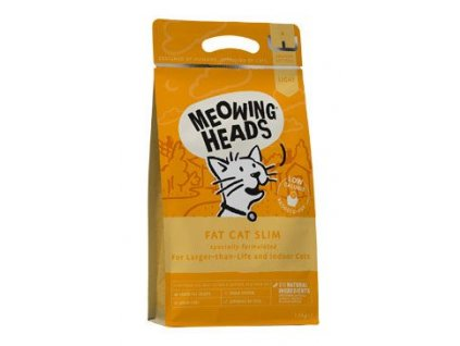 MEOWING HEADS Fat Cat Slim NEW 1,5kg