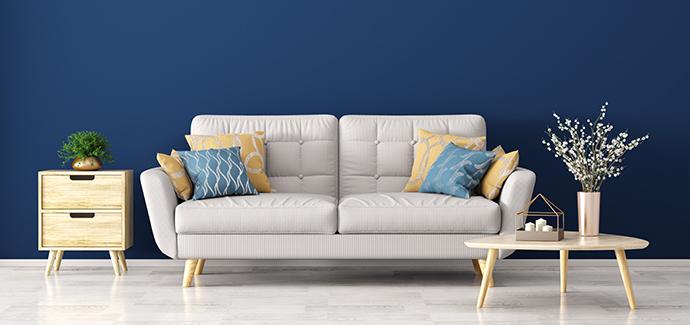 Rolety Duo. Barva roku 2020 - klasická modrá