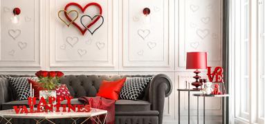 Jak vyladit byt na svatého Valentýna