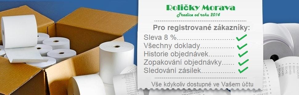 Výhody registrovaných zákazníků