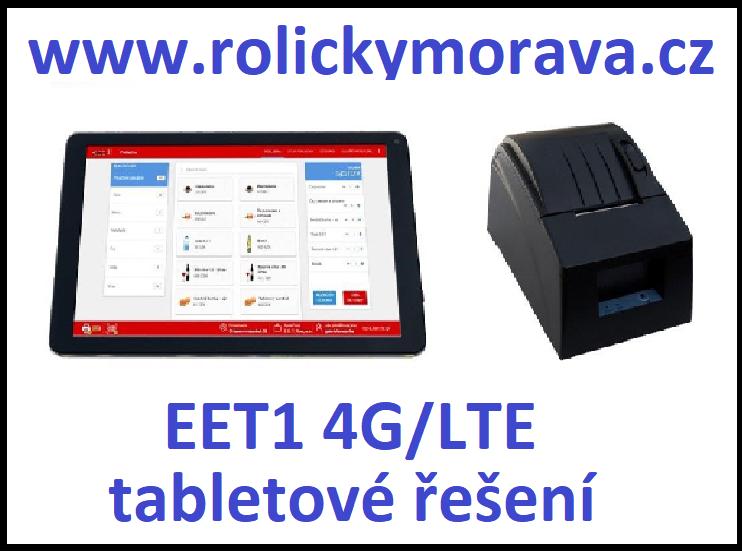 Nejvýhodnější kotoučky pro EET1 4G/LTE tabletové řešení