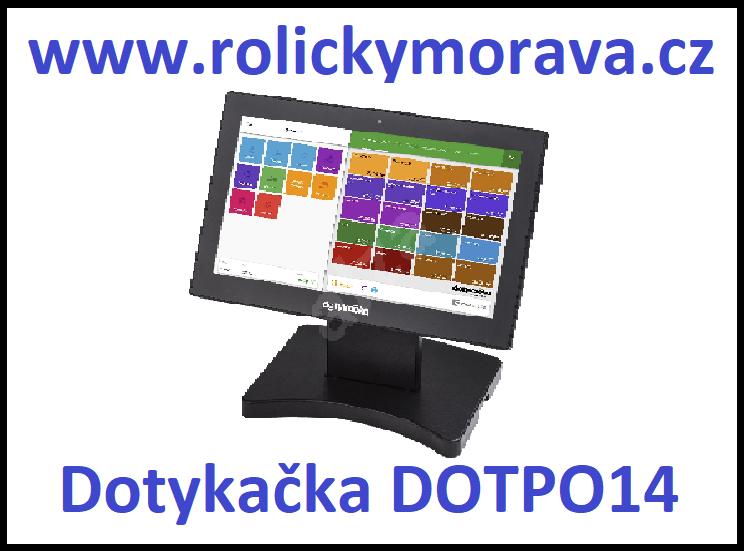 Nejvýhodnější kotoučky pro pokladnu Dotykačka DOTPO14