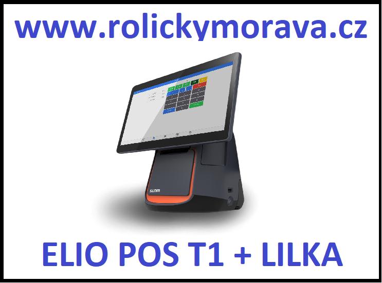 Nejvýhodnější kotoučky pro Elio POS T1 + integrovaná tiskárna + LILKA