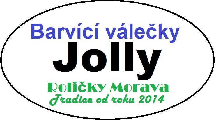 Barvící válečky Jolly
