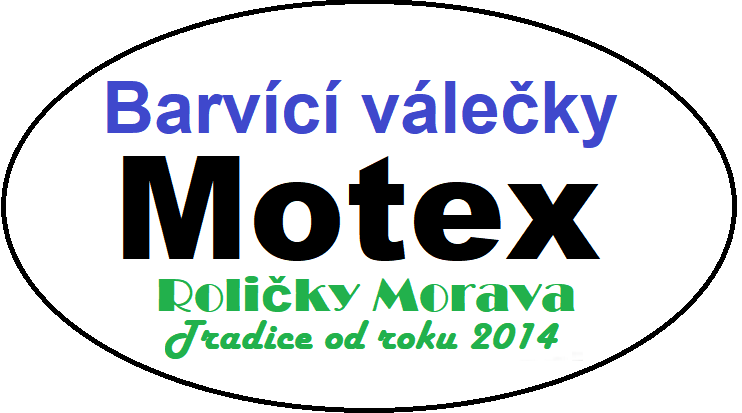 Barvící válečky Motex
