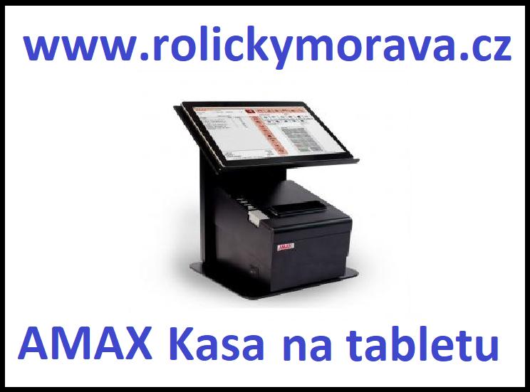Nejvýhodnější kotoučky pro AMAX kasa na tabletu