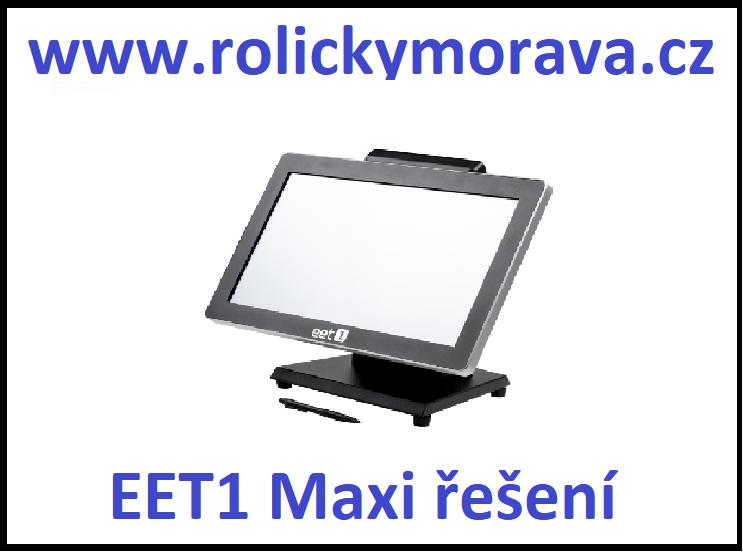 Nejvýhodnější kotoučky pro EET1 Maxi řešení
